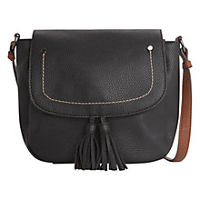 Buy Mango Contrast Detail Cross Body Bag Online at johnlewis.com
