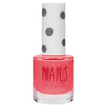 Buy TOPSHOP Nails - Reds/Pinks/Oranges Online at johnlewis.com
