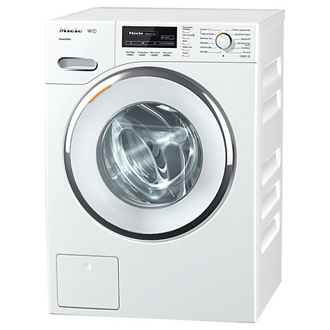 Buy Miele WMF 120 Washing Machine, 8kg Load, A+++ Energy Rating, 1600rpm Spin, WhiteEdition Online at johnlewis.com