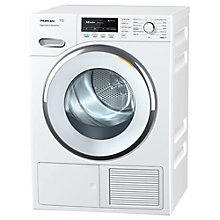 Buy Miele TMG 440 WP Heat Pump Tumble Dryer, 8kg Load, A+ Energy Rating, WhiteEdition Online at johnlewis.com