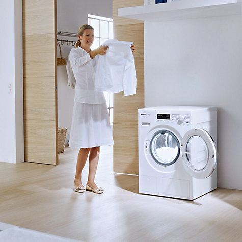 Buy Miele WKH 120 WPS Washing Machine, 8kg Load, A+++ Energy Rating, 1600rpm Spin, ChromeEdition Online at johnlewis.com