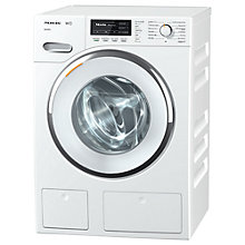 Buy Miele WMG 120 Freestanding Washing Machine, 8kg Load, A+++ Energy Rating, 1600rpm Spin, WhiteEdition Online at johnlewis.com