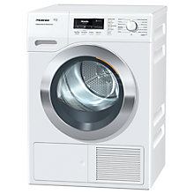 Buy Miele TKR 350 WP Heat Pump Tumble Dryer, 8kg Load, A++ Energy Rating, ChromeEdition Online at johnlewis.com
