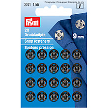 Buy Prym Snap Fasteners, 9mm, Pack of 20 Online at johnlewis.com