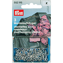 Buy Prym Coat Chains, Pack of 3, Silver Online at johnlewis.com