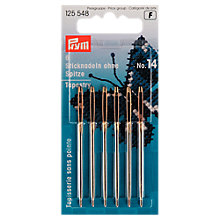 Buy Prym Tapestry Needles, Size 14, Pack of 6 Online at johnlewis.com
