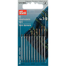 Buy Prym Assorted Darning Needles, Sizes 1-9, Pack of 10 Online at johnlewis.com