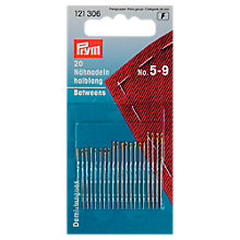Buy Prym Assorted Hand Sewing Needles, Sizes 5-9, Pack of 20 Online at johnlewis.com