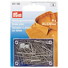 Buy Prym Rust-proof Pins, 15g Online at johnlewis.com