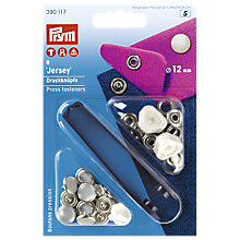 Buy Prym Jersey Press Fasteners, 12mm, Pack of 6 Online at johnlewis.com