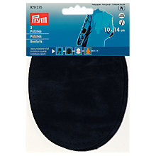 Buy Prym Imitation Suede Elbow Patches, Pack of 2, Navy Online at johnlewis.com