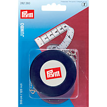 Buy Prym Jumbo Spring Tape Measure, 300cm Online at johnlewis.com