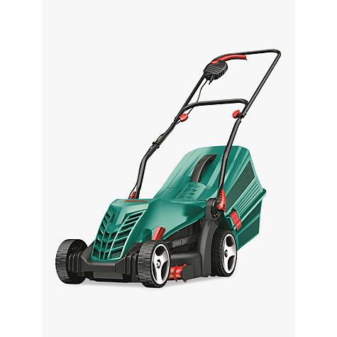 buy bosch rotak 34 r rotary hand propelled electric lawnmower john lewis. Black Bedroom Furniture Sets. Home Design Ideas