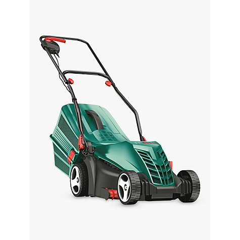 buy bosch rotak 34 r rotary hand propelled electric lawnmower john lewis. Black Bedroom Furniture Sets. Home Design Ideas