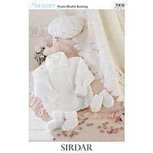 Buy Sirdar Snuggly Pearls DK Leaflet, 3908 Online at johnlewis.com