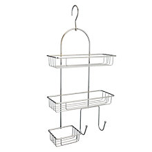 Buy John Lewis Two Tier Hook Shower Caddy Online at johnlewis.com