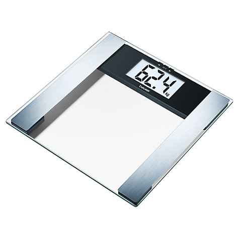 Buy Beurer BG17 Clear Analyser Bathroom Scale Online at johnlewis.com