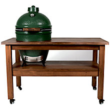 Buy Big Green Egg Large Ceramic Barbecue with Mahogany Table Online at johnlewis.com