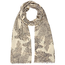 Buy Hobbs Fern Scarf, Fawn Beige Multi Online at johnlewis.com