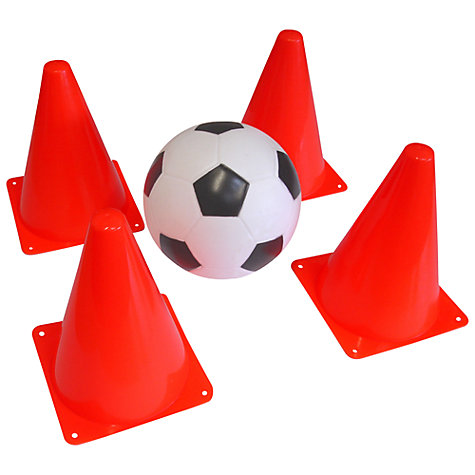 Buy Mookie 4 Cones With Football Online at johnlewis.com