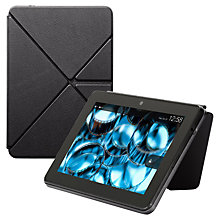 "Buy Amazon Standing Leather Origami Case for Kindle Fire HDX 7"" Online at johnlewis.com"