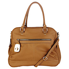 Buy Oasis Danielle Bag, Brown Online at johnlewis.com
