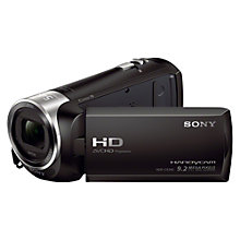 "Buy Sony HDR-CX240E HD 1080p Camcorder, 9.2MP, 27x Optical Zoom, OIS, 2.7"" LCD Screen, Black Online at johnlewis.com"