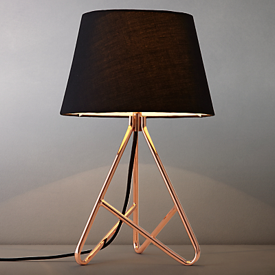 John Lewis Albus Twisted Table Lamp