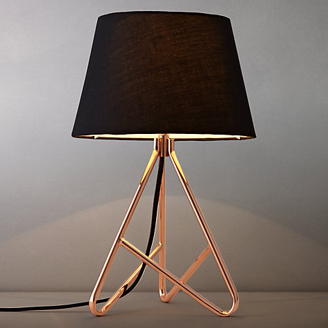 Buy John Lewis Albus Twisted Table Lamp Online at johnlewis.com