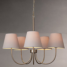 Buy John Lewis Croft Collection Bainbridge Armed Chandelier, 5 Arm Online at johnlewis.com