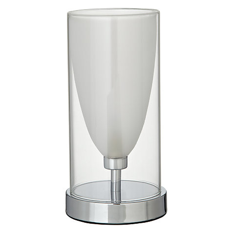 Buy John Lewis Jesscia Double Glass Touch Table Lamp Online at johnlewis.com