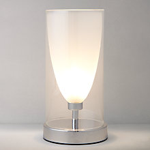 Buy John Lewis Jessica Double Glass Touch Table Lamp Online at johnlewis.com