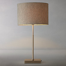 Buy John Lewis Lorenzo Textured Shade Table Lamp Online at johnlewis.com