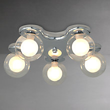Buy John Lewis Mansfield Semi Flush Light Online at johnlewis.com