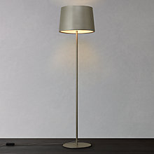 Buy John Lewis Fjord Metal Floor Lamp, Satin Grey Online at johnlewis.com