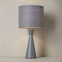 Buy John Lewis Alice Starry Sky Touch Table Lamp, Grey Online at johnlewis.com