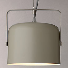 Buy John Lewis Bjorn Single Flood Ceiling Light, Putty Online at johnlewis.com
