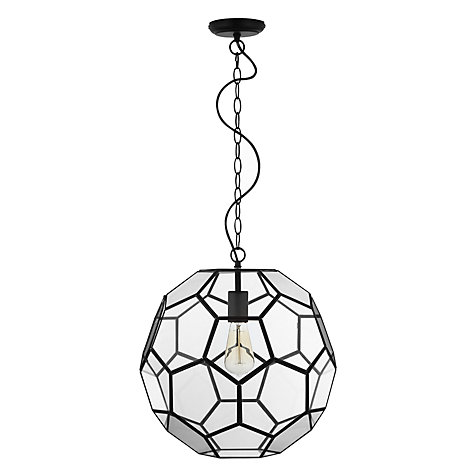 Buy John Lewis Amberly Fusion Hexagon Ball Ceiling Pendant Online at johnlewis.com