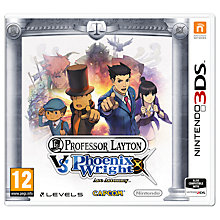 Buy Professor Layton vs. Phoenix Wright: Ace Attorney, 3DS Online at johnlewis.com