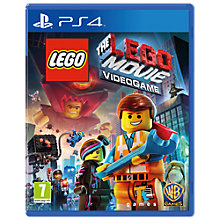 Buy The LEGO Movie Videogame, PS4 Online at johnlewis.com