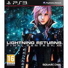 Buy Lightning Returns: Final Fantasy XIII, PS3 Online at johnlewis.com
