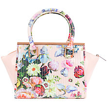 Buy Ted Baker Pexie Tote Bag, Nude Pink Online at johnlewis.com
