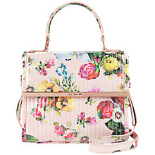 Buy Ted Baker Fluno Across Body Bag, Nude Pink Online at johnlewis.com