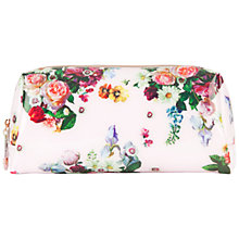 Buy Ted Baker Ausa Small Wash Bag, Nude Pink Online at johnlewis.com