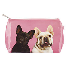 Buy Catseye Mr and Mrs Pug Wash Bag Online at johnlewis.com