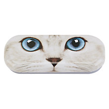 Buy Catseye Silver Kitty Glasses Case Online at johnlewis.com