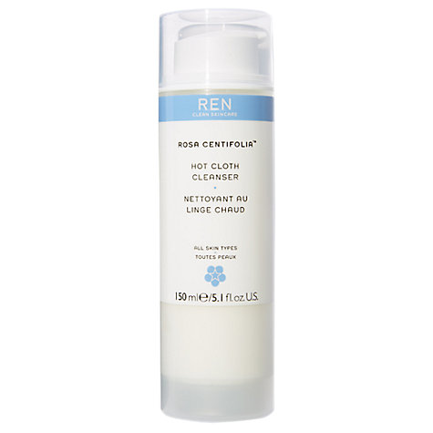 Buy REN Centifolia Hot Cloth Cleanser, 150ml Online at johnlewis.com