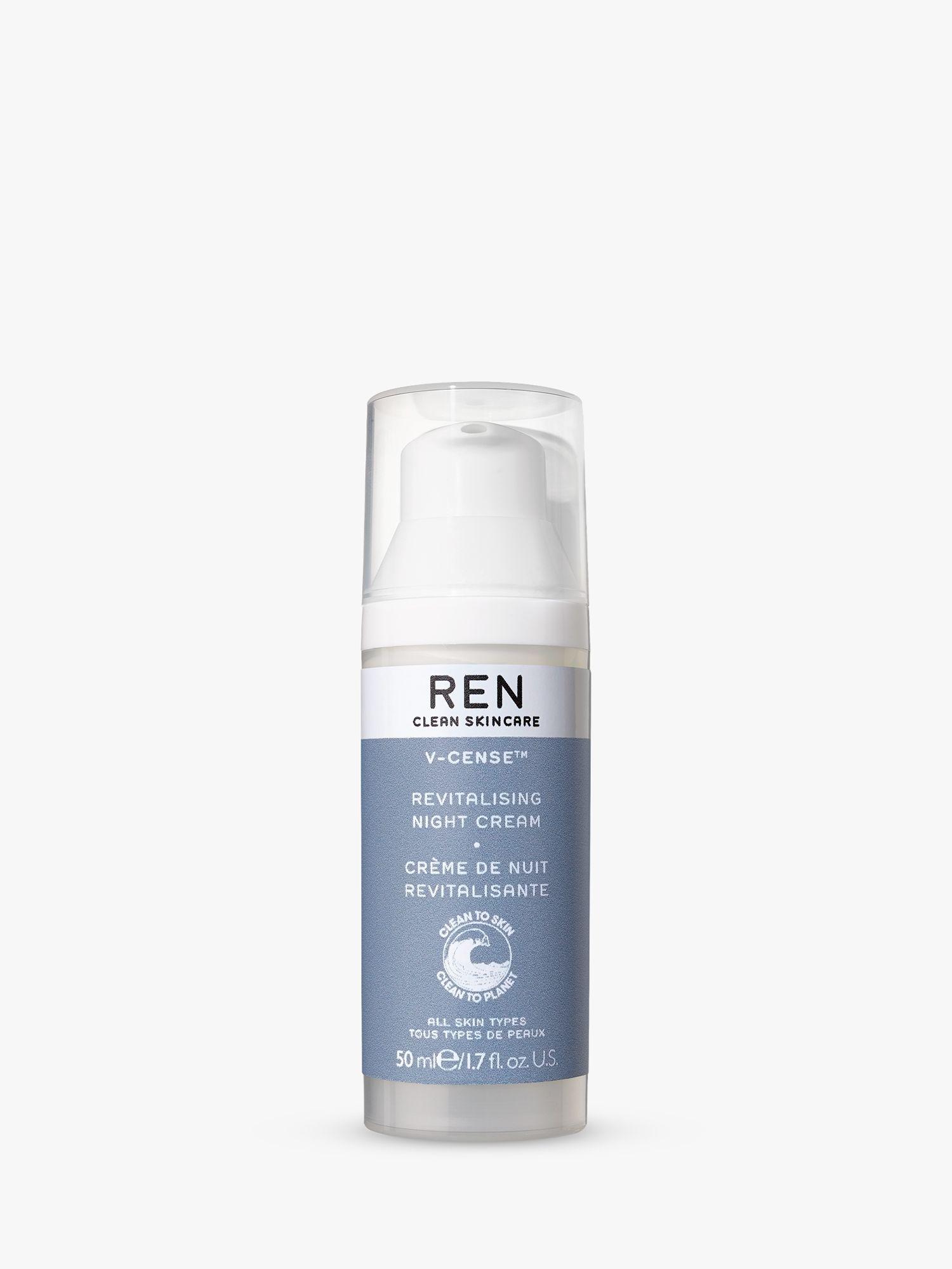 REN REN V-Cense™ Revitalising Night Cream, 50ml