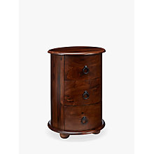 Buy John Lewis Maharani Drum Side Table Online at johnlewis.com