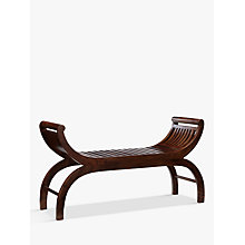Buy John Lewis Maharani Curved Bench Online at johnlewis.com
